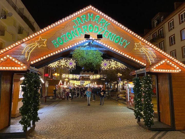 Brama Jarmarku Bożonarodzeniowego