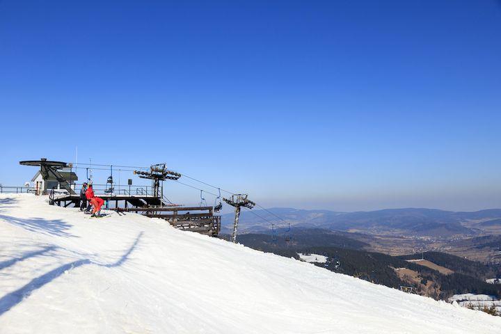 Czarna Góra w Stroniu Śląskim - masyw Śnieżnika