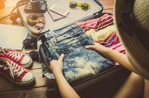 Pakowanie do walizki lub torby