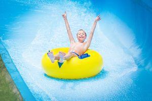 Aquapark - zjeżdżalnia