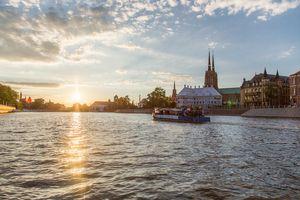 Rejs statkiem po Odrze - Wrocław