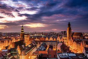 Wrocław - panorama Starego Miasta