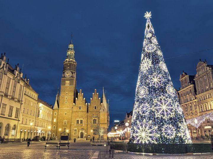 Choinka Bożonarodzeniowa na Rynku