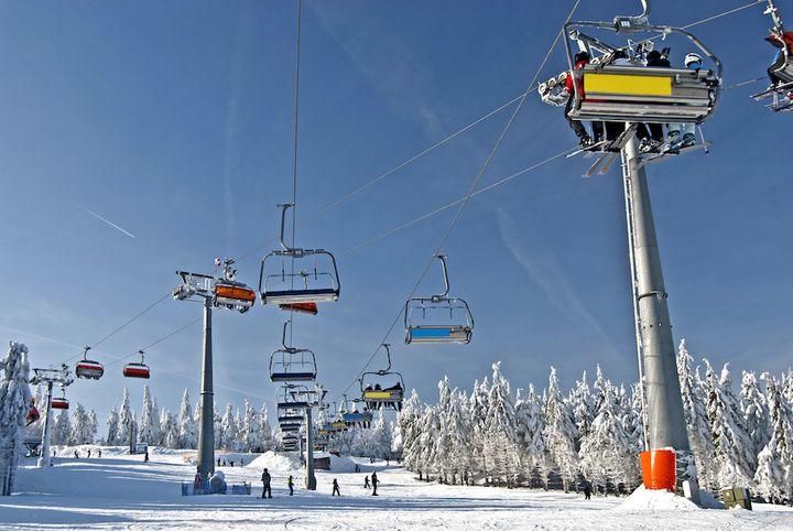 Wyciąg narciarski w Zieleńcu