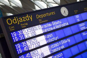 Rozkład jazdy PKP - Dworzec Wrocław Główny