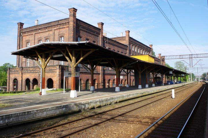 Perony dworca Wrocław Nadodrze