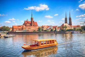 Łódki turystyczne - Odra - Wrocław