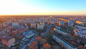 Panorama Wrocławia ze Sky Tower