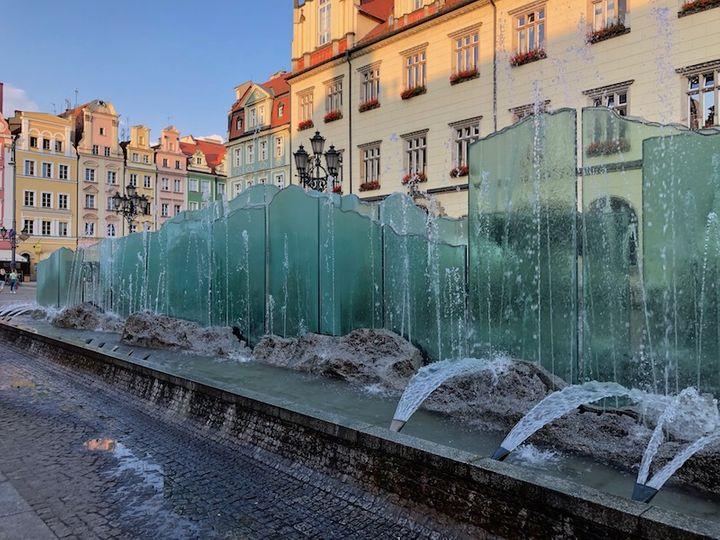 Fontanna na Rynku we Wrocławiu