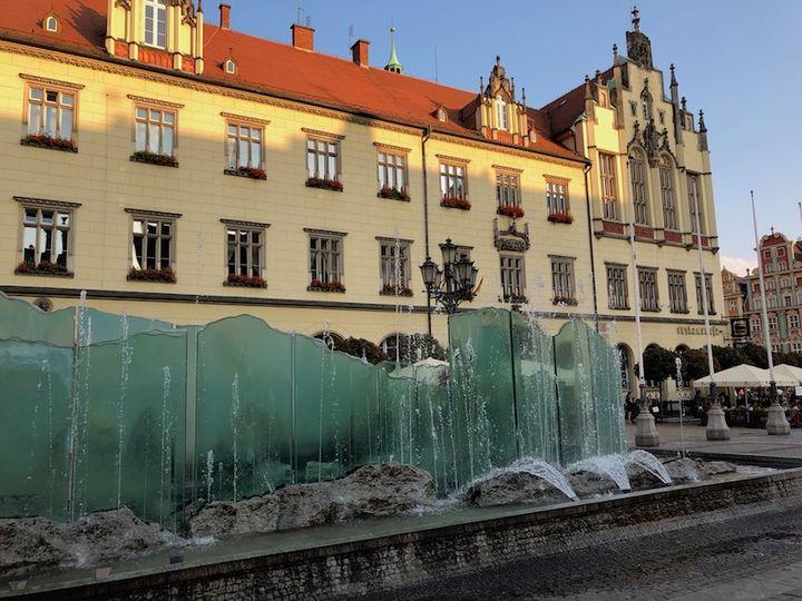 Fontanna - Rynek Wrocław