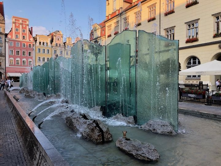 Rynek Wrocław - Fontanna
