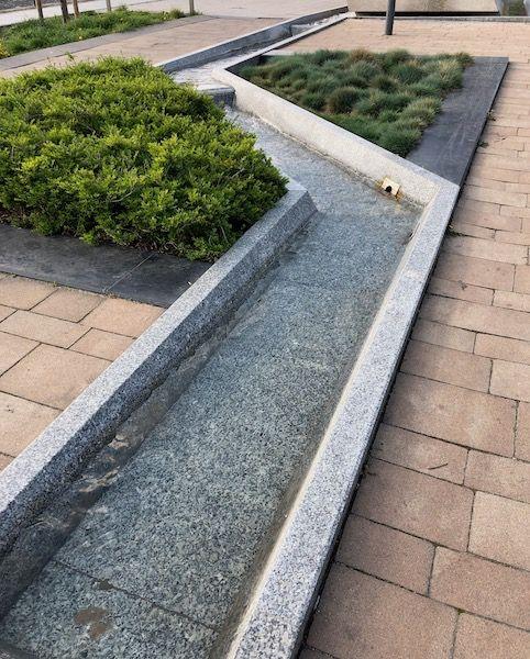 Rynna fontanny - Wybrzeże Wyspiańskiego