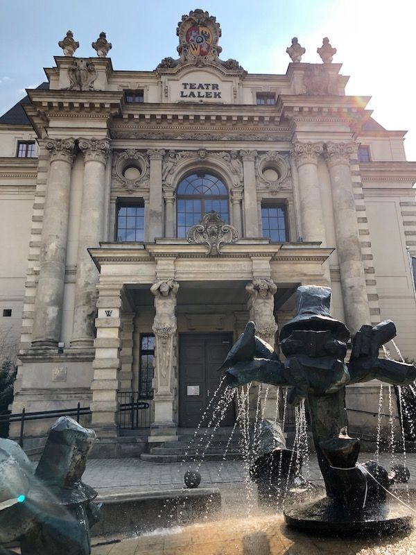Teatr Lalek - Fontanna Krasnali