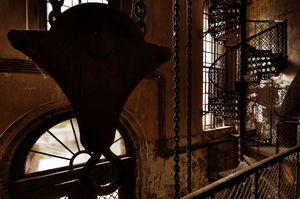 Wnętrze Wieży Ciśnień na Grobli - Wrocław