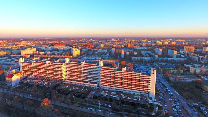 Widok ze Sky Tower Wrocław